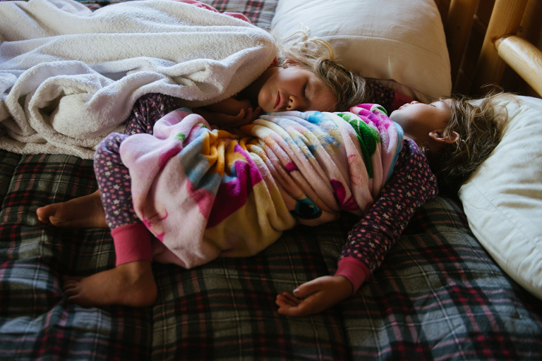 sleeping child - Family Documentary Photography Interview