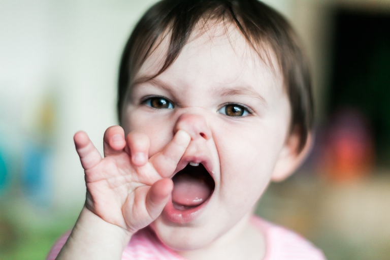 nose picker - family documentary photography