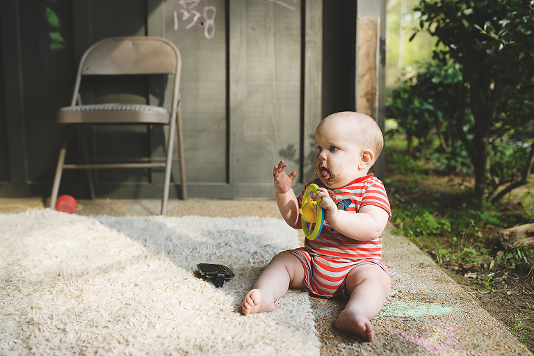 baby with toys - Family Documentary Photography