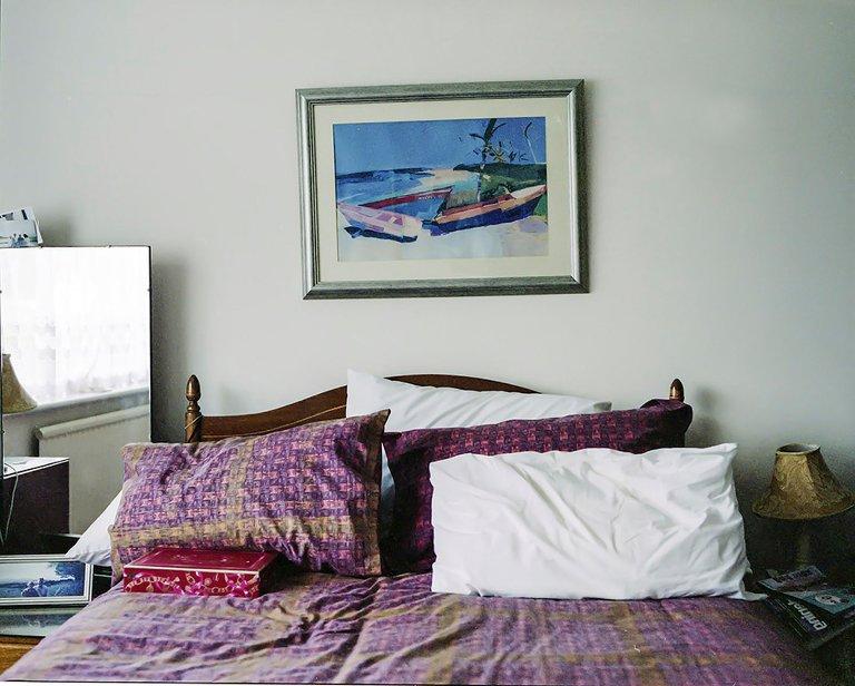 grandparents bedroom - Documentary Family Photography