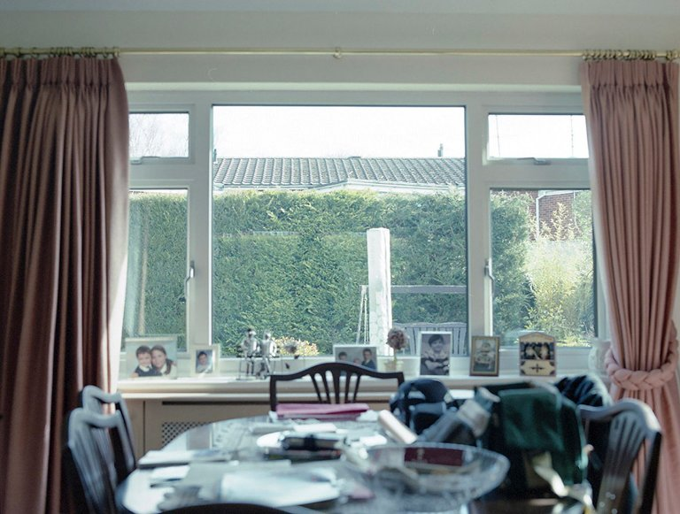 dining room window - Documentary Family Photography