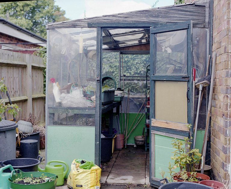 garden shed - Documentary Family Photography