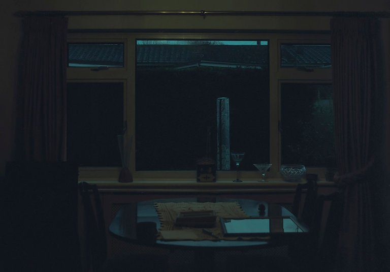 dining room at night - Documentary Family Photography