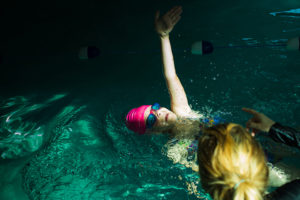 girl swimming - Documentary Family Photography