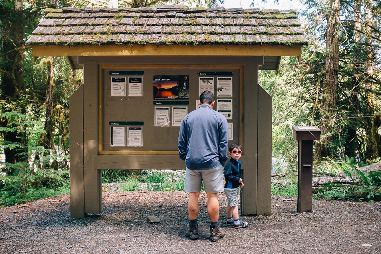 father and son go hiking - Documentary Family Photography