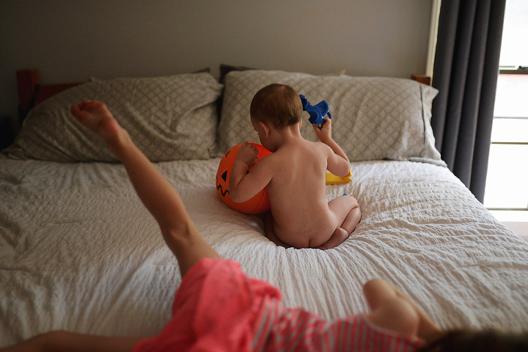 kids on bed - Documentary Family Photography