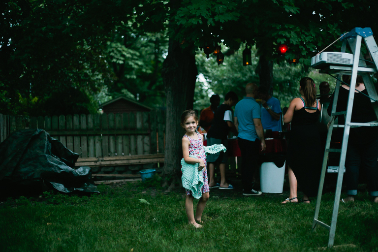 girl at picnic - Documentary Family Photography