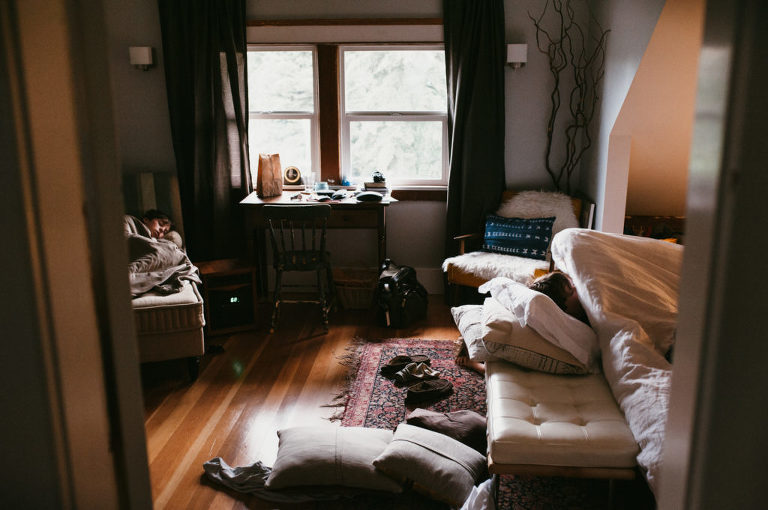 living room with cushions tossed everywhere - Documentary Family Photography