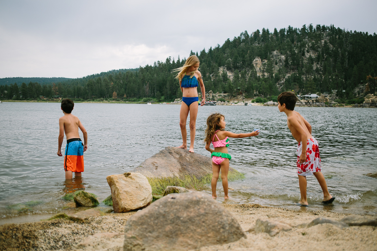kids on beach - Documentary Family Photography